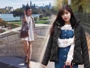 Làm đẹp - Ngưỡng mộ 2 nữ du học sinh Việt vừa đẹp vừa giỏi
